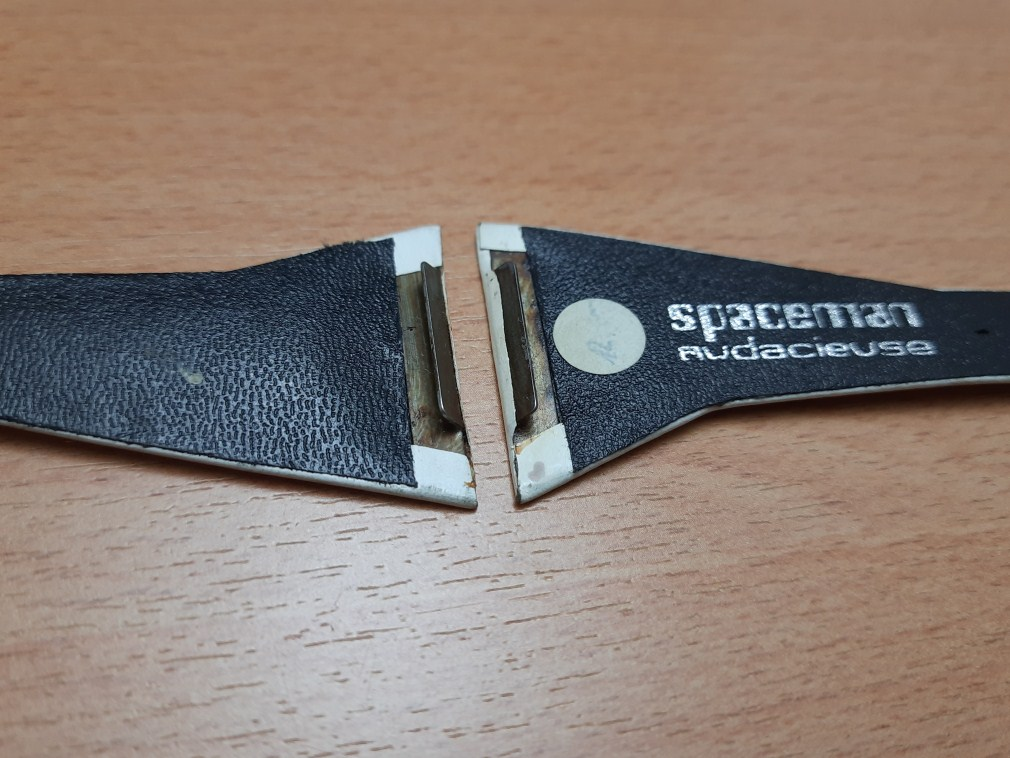 VINTAGE NOS 1970'S 36MM SPACEMAN AUDACIEUSE BAND STRAP